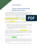 Lectura - Planteamiento  del probl segun APA
