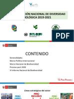 Plan de accion nacional de diversidad biologica 2019 - 2021