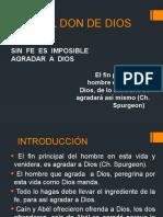 FE – EL DON DE DIOS 01