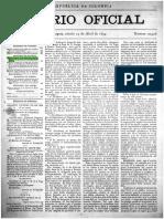 Diario Oficial, 29 de Abril de 1899