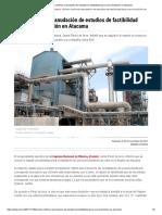 Enami confirma reanudación de estudios de factibilidad para nueva fundición en Atacama