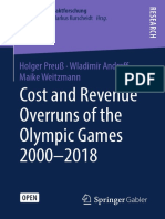 Cost and Revenue Olympic Games