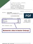Laborbefund Blutwerte 25. Jänner 2011