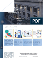 Informe Política Monetaria