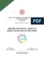 P2P and Human evolution