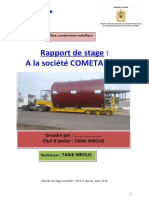 rapport de stage construction mettalique