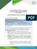 Guia de actividades y Rúbrica de evaluación - Unidad 1 - Tarea 2 - Indagar sobre diferentes fuentes de energías alternativas