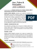 DECLARACION UNION DE HECHO POST MORTEM COGEP