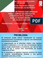 TESIS_FACTORES DE RIESGO QUE ORIGINAN_KAROL.ppt