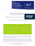 The Key Role of Education