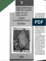 As Injustiças de Clio