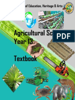 AGRICULTURALSCIENCE-YEAR13