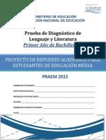 prueba_diagnostico_lenguaje_literatura_1 2015
