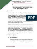 MEMORIA DESCRIPTIVA_CANAL DE DRENAJE PLUVIAL AV.PERU CACHICOTO