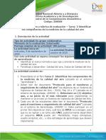 Formato-Guia de actividades y Rúbrica de evaluación Tarea 2 - Identificar los componentes de la medición de la calidad del aire