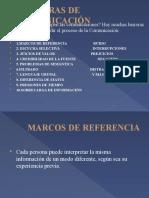 BARRERAS Y MEJORAMIENTOS DE LA COMUNICACIÓN