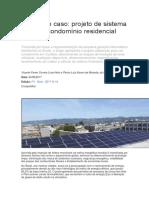 Geração Fotovoltaíca - Estudo de caso