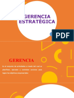 1. Gerencia Estratégica