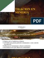 CLASE 1 UNIDAD 1 VENTILACION (ambiente minero)
