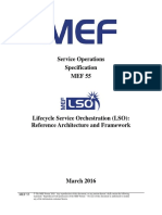 MEF 55 - LSO Reference Architecture and Framework