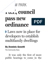 Willow Park-Apt. ordinance