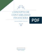 concepto de Contabilidad financiera