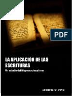 La Aplicacion de las Escrituras