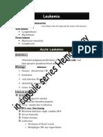 Acute leukemia11