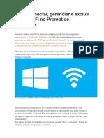 Como conectar, gerenciar e excluir redes Wi-Fi no Prompt de Comando.pdf