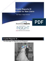 Crystal+Reports+XI+ +Essentials+for+New+Users