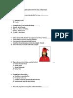 Soal Kelas 4 UH tematik UAS_2