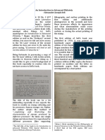 An Introduction to Advanced Philately by Sefi