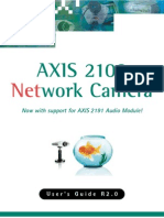 Axis 2100 User's Manual