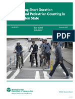Wash DOT bike and ped counting