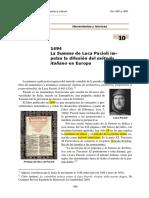 OBRAS DE LUCA PACIOLI