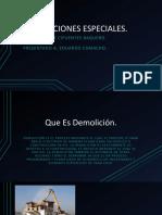 DEMOLICIONES ESPECIALES
