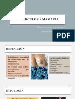 TUBERCULOSIS MAMARIA
