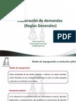 Elaboración de demandas, PRI 2015