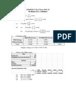 Problem Set 2- Solutions(1)