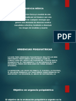 2. URGENCIAS PSIQUIATRICAS
