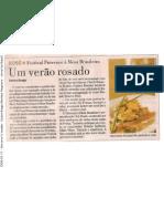 2008-01-11 - Um verão rosado - Carlos Braga (Revista Programa - Jornal do Brasil)