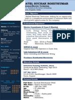 Resume-Suchak Patel