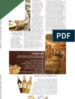 2008-03-12 - Um roteiro pelo sabor - Françoise Terzian (Revista França Brasil)