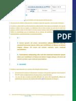 GNLQ-GEN-PR-001 ANEXO 7.8 Formato Instructivo