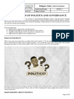 PPG Module 1 - The Concepts of Politics and Governance.docx