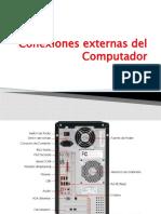 Conexiones externas del Computador