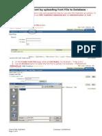 Oracle XML Publisher-Font file