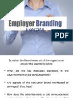Employer Branding Exercise - Group 3