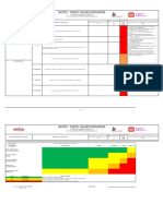 Risk Assessment Installation of Exterior Scaffolds