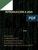 Java Introd